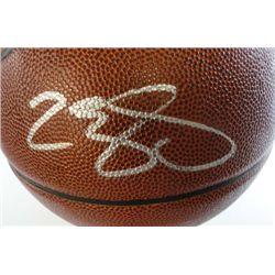 LeBron James Autographed Spalding NBA Basketball.