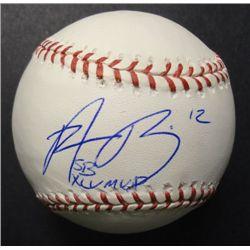 Green Bay Packer Aaron Rogers Autographed Baseball
