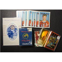 Misc Lot of Sports Cards Winston Cup Set, Star Wars Set, USA Baseball Set plus
