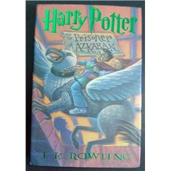Harry Potter Autographed Book by J.K. Rowlings