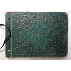 Vintage Autograph Book with Over 50 Celebrity Signatures for the 1930-40's