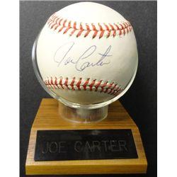 JOE CARTER BLUE JAYS LEGEND SIGNED AUTOGRAPH AMERICAN LEAGUE BASEBALL