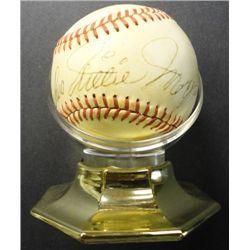 Willie Mays Autograph Baseball on Charles S Feeney Natl Lg Ball