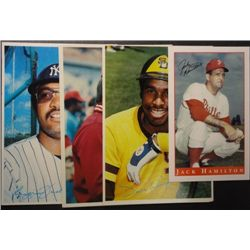 1980 Topps 5x7 Jackson, Winfield, Rose & Ryan