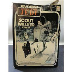 STAR WARS RETURN OF THE JEDI SCOUT WALKER