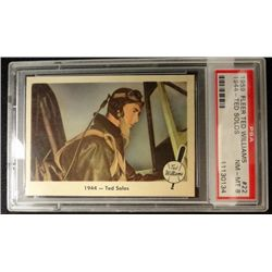 1959 Fleer Ted Williams.  TED SOLOS.  PSA NM-MT 8