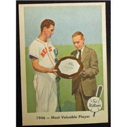 1959 FLEER TED WILLIAMS.  MVP  NM