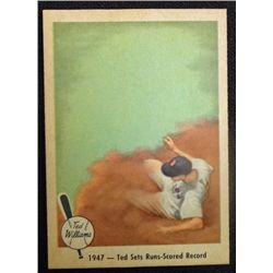 1959 FLEER TED WILLIAMS.  TED SETS RUNS RECORD.  NM