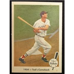 1959 FLEER TED WILLIAMS.  TED'S COMEBACK.  NM-MT