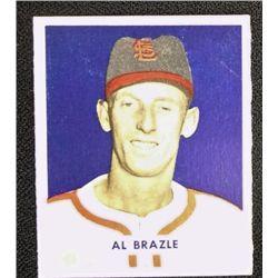 1949 BOWMAN #126A  AL BRAZLE  SCRIPT  ROOKIE  NM