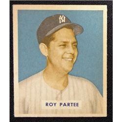 1949 BOWMAN #149  ROY PARTEE  EX-MT  ROOKIE