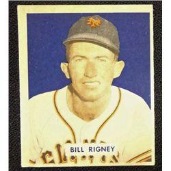 1949 BOWMAN #170  BILL RIGNEY  NM  O/C