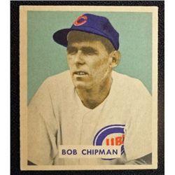 1949 BOWMAN #184  BOB CHIPMAN  NM  ROOKIE