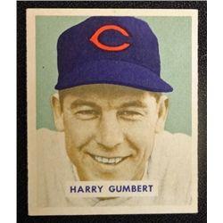 1949 BOWMAN #192  HARRY GUMBERT  EM
