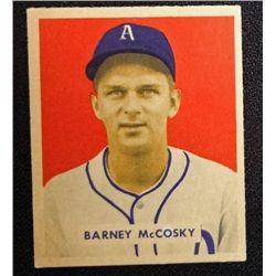 1949 BOWMAN #203  BARNEY McCOSKY  NM