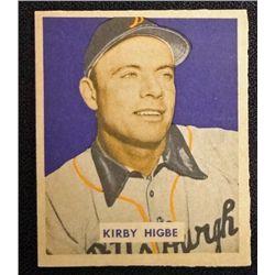 1949 BOWMAN #215  KIRBY HIGBE  NM