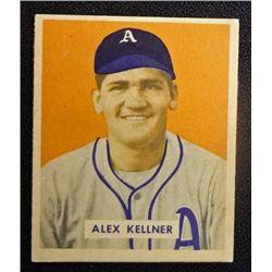 1949 BOWMAN  #222  ALEX KELLNER  NM  ROOKIE
