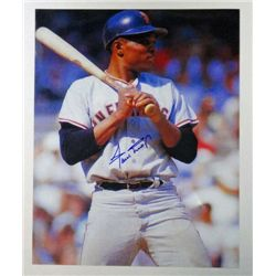 San Francisco Willie Mays MLB HALL-OF-FAMER AUTOGRAPHED 8x10 Color.  w/COA