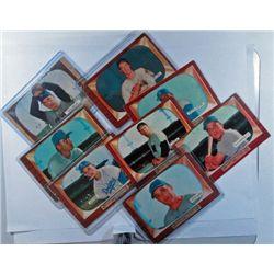 8 - 1955 Bowman Baseball Cards - VG - Good