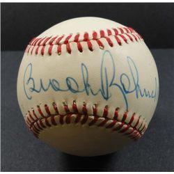 Brooks Robinson Autographed Baseball.
