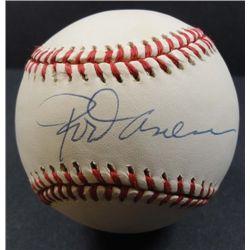 Rod Carew Autographed Baseball.