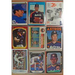 Nolan Ryan Collection, Approx. 680 cards.