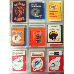 Binder of 750+ Team Logo Cards.