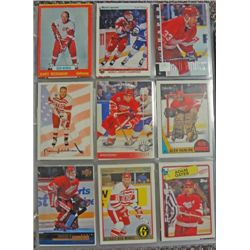 Detroit Red Wings Collection, over 750 cards, NM-MT.