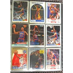 Detroit Pistons Basketball Card Collection, Loaded with Stars!  (229 Cards)