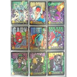 1995 DC Power Chrome Legends '95 Card Lot (over 150 cards)   NM-MT