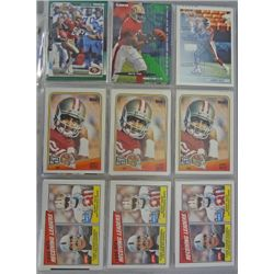 Jerry Rice Hall of Famer Card Lot (120 cards)