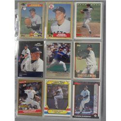 Roger Clemens Baseball Card Lot (175 cards)