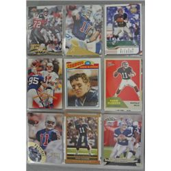 Drew Bledsoe Football Card Lot (over 320 cards).  Nice NM-MT or Better.