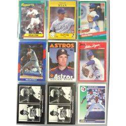 Nolan Ryan Baseball Card Lot (240 cards)