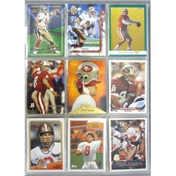 Steve Young Football Card Lot (175 cards)