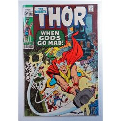 THOR comic book Sept 1970 issue #180