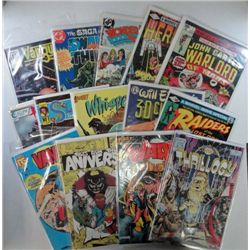 Group of 14 different #1 Issues mostly Late 1980's