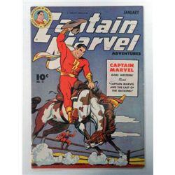 CAPTAIN MARVEL #51 ISSUE, JANUARY 1946