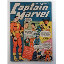 CAPTAIN MARVEL #9 ISSUE, APRIL 3, 1942
