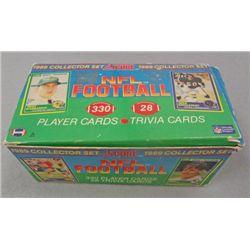 1989 Score Football Complete Set, Aikman & Sanders Rookies.