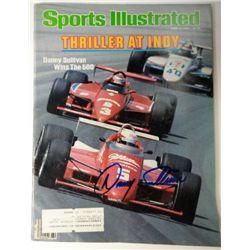 Danny Sullivan Autographed Sports Illustrated.  June 3, 1985
