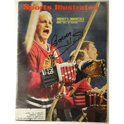 Bobby Hull Autographed Sports Illustrated.  February 12, 1968.