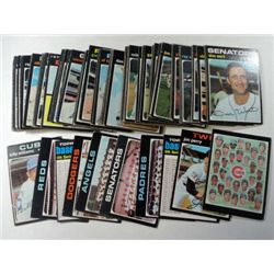 100 - 1971 Topps Baseball Cards with lots of Team Cards & Checklist.