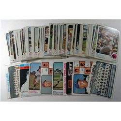100 - 1973 Topps Baseball Lot Cy Young & more.  Mostly Nice EX or Better.