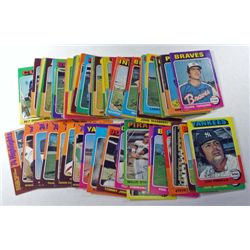 100 - 1975 Topps Baseball Cards Loaded with Stars!