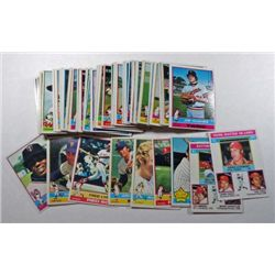 100 - 1976 Topps Baseball Cards.  Nice NM Lot with Star Cards.