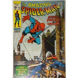 the AMAZING SPIDER-MAN MARVEL Comics Group #95  APRIL 1971   VF
