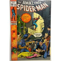 the AMAZING SPIDER-MAN MARVEL Comics Group #96 MAY 1971  F