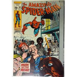 the AMAZING SPIDER-MAN MARVEL Comics Group  #99 AUG 1971   F-VF