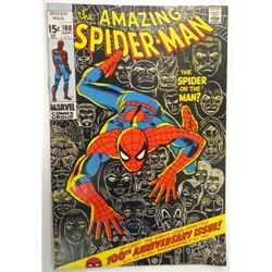 the AMAZING SPIDER-MAN MARVEL Comics Group #100  SEPT 1971   VG